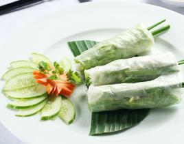 dai nam vietnamese restaurant - goi cuon chay